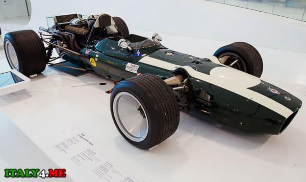 Cooper BRM T86B в музее Феррари