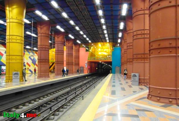Olaias станция метро в Лиссабоне