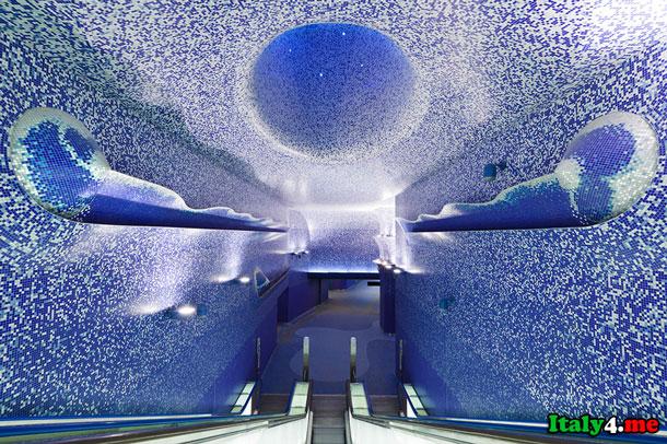 Толедо метро в Неаполе