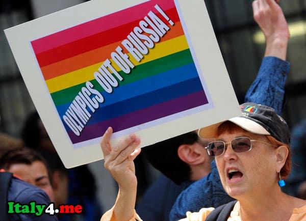 олимпиада Сочи гей активисты