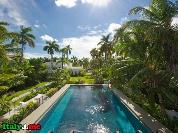вилла Аль Капоне в Маями бассейн