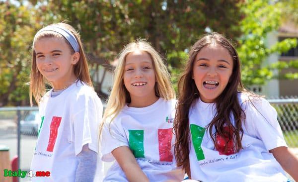 дети белорусы в Италии