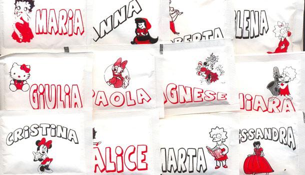 детские имена Италия