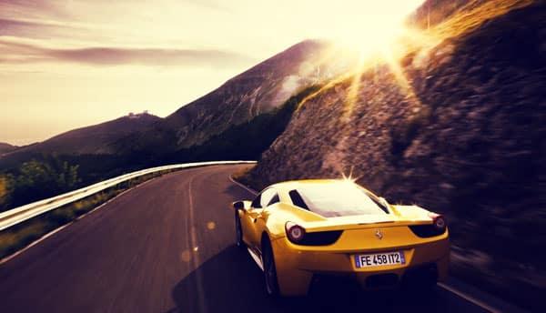 авто на дорогах Италии