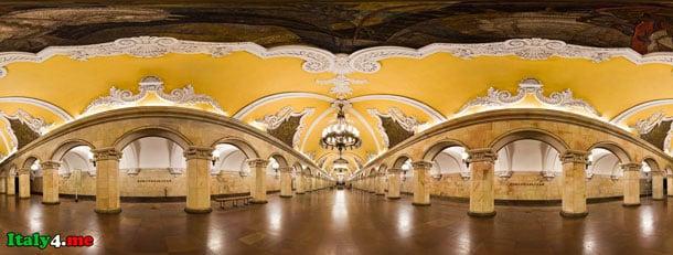 """Станция метро """"Комсомольская"""" Москва"""