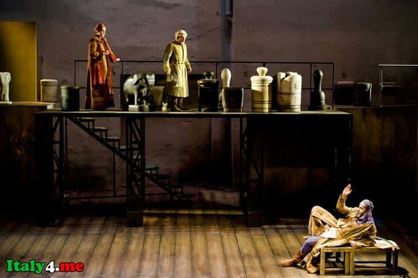 выступление актеров малый театр в Милане