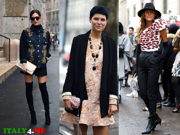 неделя высокой моды в Милане