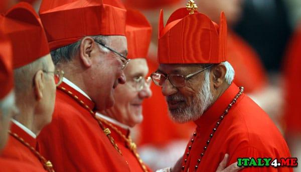 Новые кардиналы из не европейских стран