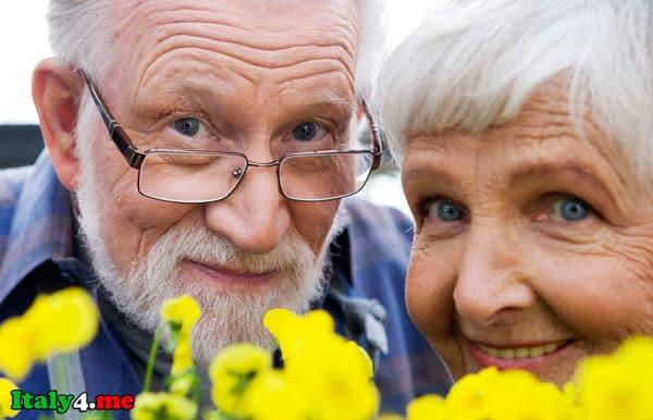 итальянские пенсионеры
