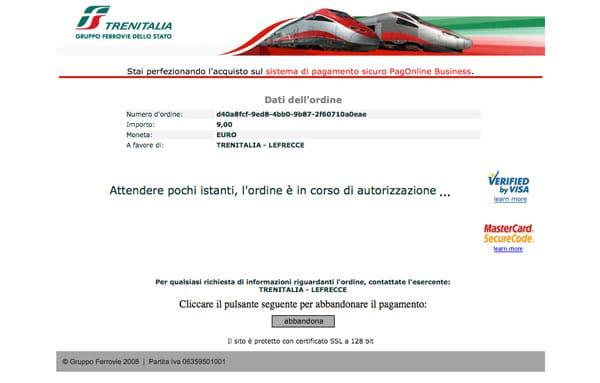 покупка билетов в Италии шаг 8
