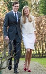 бельгийский принц Амедео и итальянская журналистка