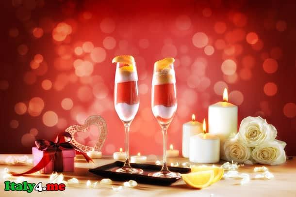 день святого валентина вино