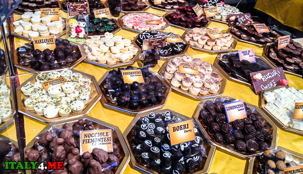 Выставка шоколада в Италии