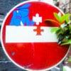 дорожные знаки в Неаполе