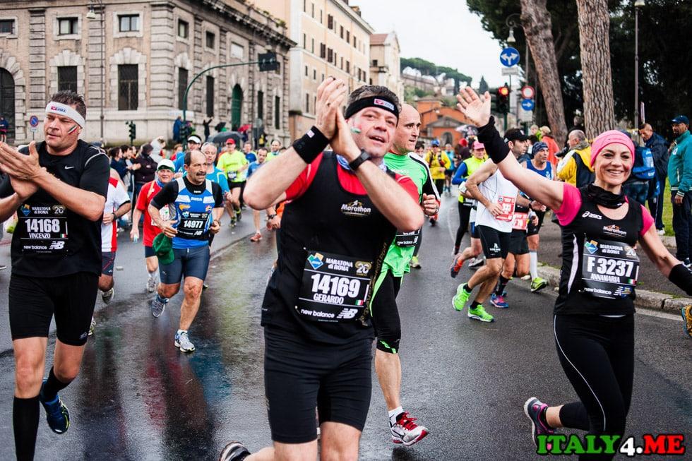 участники римский марафон 2014