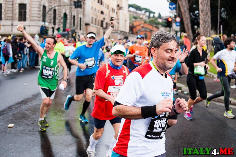 римский марафон участники