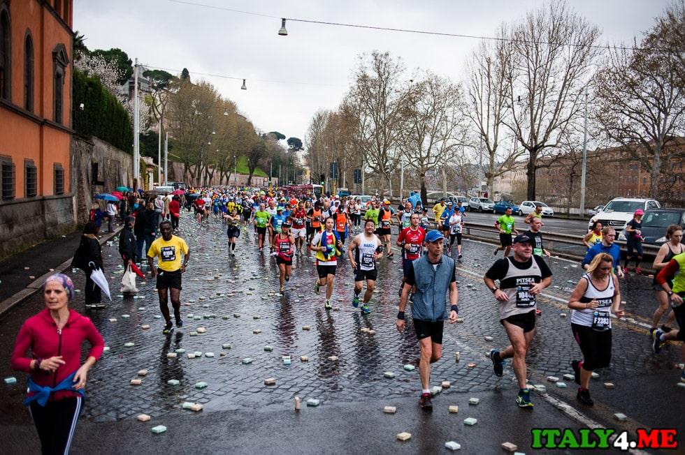 рим марафон
