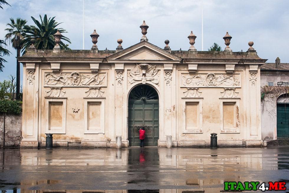 мальтийский сад три страны Рим