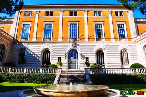 здание американской академии в Риме
