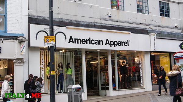 Рим American_Apparel