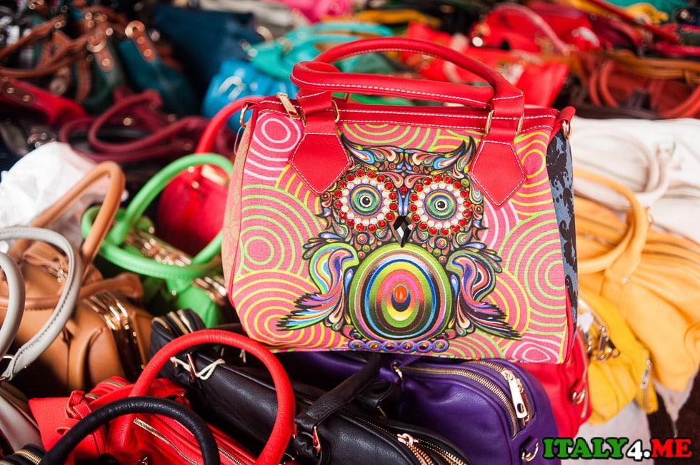 блошиный рынок Рим сумка