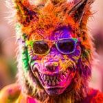 фестиваль красок Рим