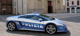 автомобиль итальянской полиции