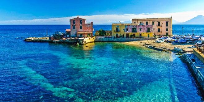 остров Сицилия