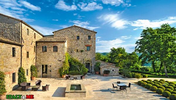 фермерский дом в Италии