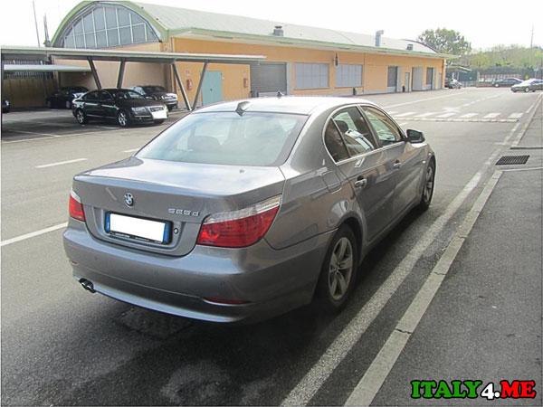 BMW 525D принадлежащее правительству Италии