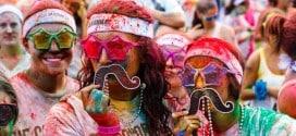 Турин цветной фестиваль