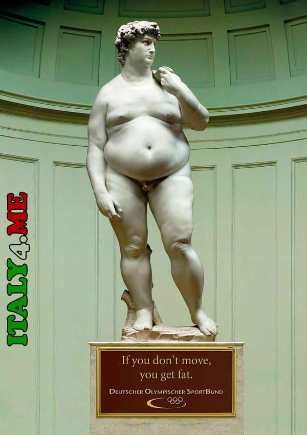 статуя Давида в Италии