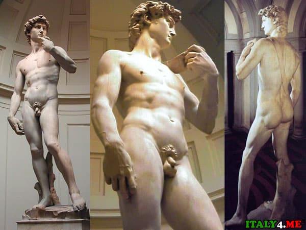 Статуя Давида в музее