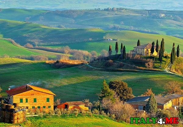 ранчо в Италии