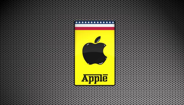 логотип Ferrari и Apple
