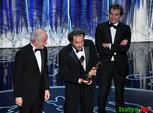 Паоло Соррентино на церемонии вручения Оскар 2014