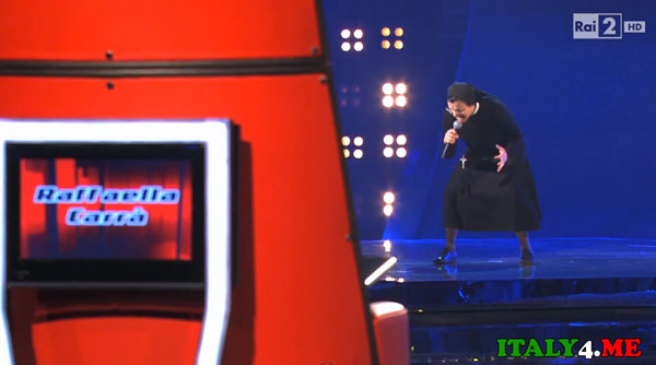 шоу голос Италия