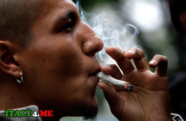 курение марихуаны