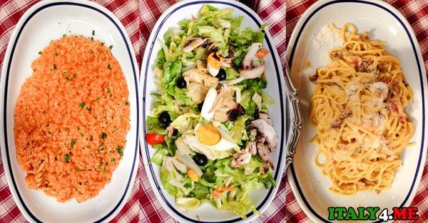 Ресторан-Рим-Трастевере-La-Viletta-блюда