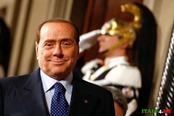 Берлускони в зале суда