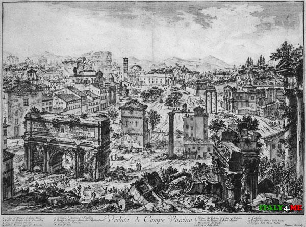 Форум в Древнем Риме до начала раскопок