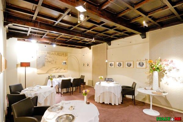 Интерьер ресторана Osteria Francescana