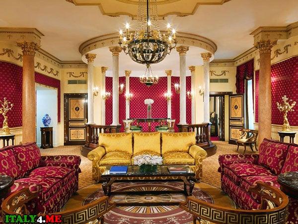 апартаменты люкс-класса в Риме