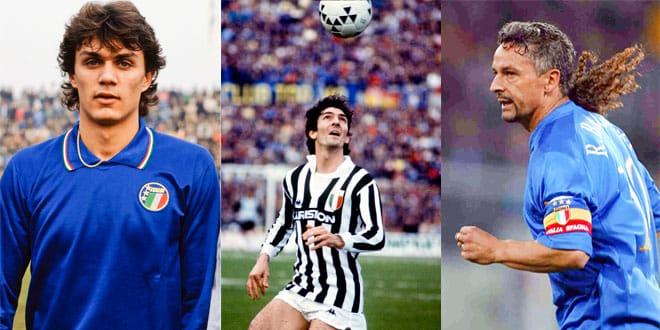 Лучшие итальянские футболисты