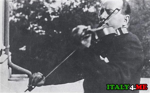 скрипка Муссолини