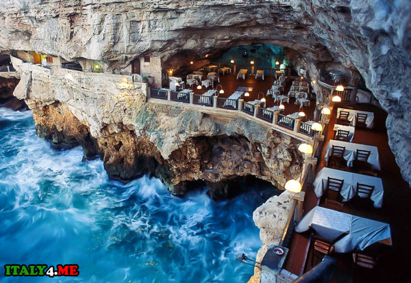 отель-ресторан Grotta Palazzese