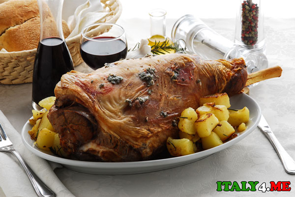 Пасха Италия баранина праздничный стол