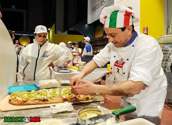 Чемпионат по приготовлению пиццы Парма 2014
