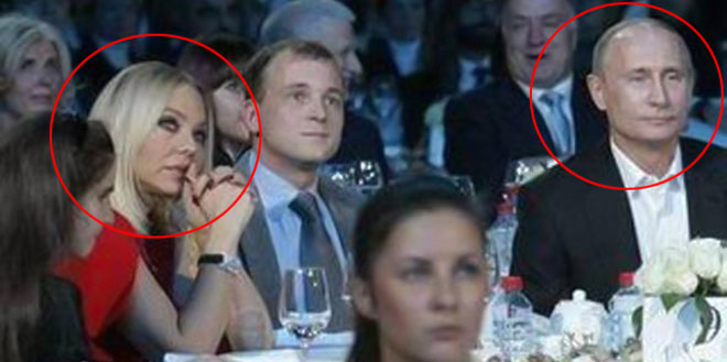 Путин и Мути на благотворительном вечере