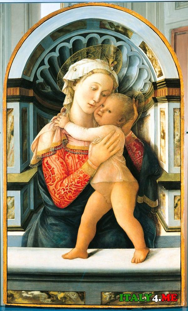 Palazzo_Medici_Riccardi_Madonna_col_Bambino
